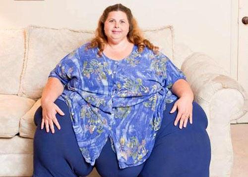 全球最令人无法想象的胖人