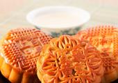 香甜月饼豆浆