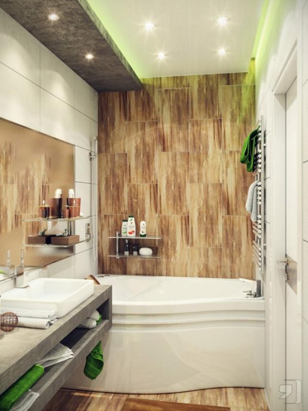 宜家小户型浴室装修 打造专属卫浴空间高清图片