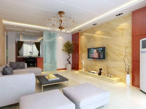 经典电视背景墙设计 打造完美创意客厅空间