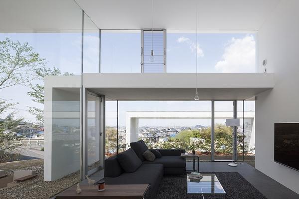 山间的一朵白云 日本UID建筑事务所住宅设计