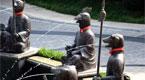 山东一豪宅门口重建十二生肖兽首铜像喷泉
