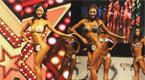 三亚国际比基尼小姐大赛落幕 成都大学女生展英姿