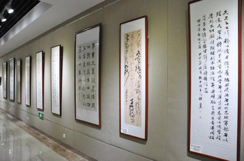 [书画展览]中国传统家训书作展济南开幕图片
