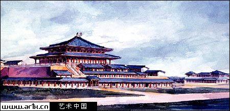 长门宫平面图