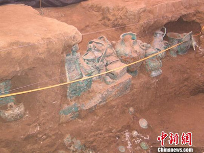 宝鸡西周贵族墓葬初步认定属姜戎人户氏家族