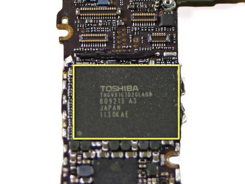 iphone 4s手机配备的16gb的rom