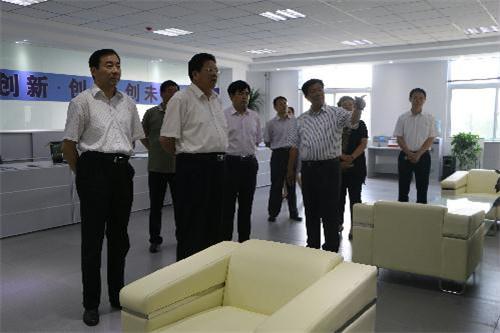 苏树伟调研新材料产业园区 肯定重点项目进展