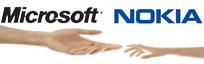 诺基亚转身 与微软结盟