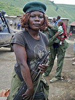 《刚果女战士》