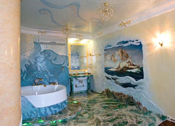 墙面爱美丽 20款手绘壁纸让家居焕然一新