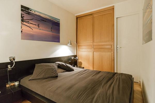 坐落于艺术之都巴黎的优雅艺术风公寓