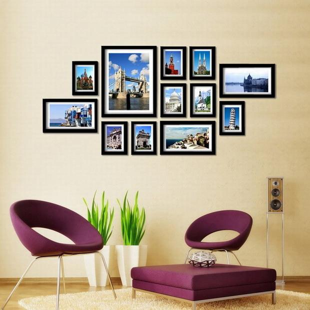 diy生活照片墙设计 打造时尚温馨空间