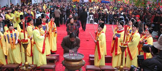 民间信仰呈现多元化发展态势