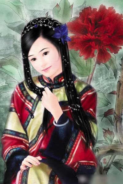 美丽,所以挂了红颜祸水的名号,崇祯口口声声说因她亡国;吴三桂