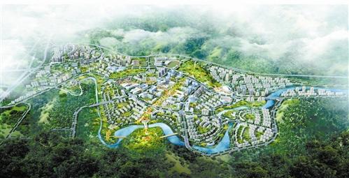 綦江 规划东部新城核心区域 打造渝南门户