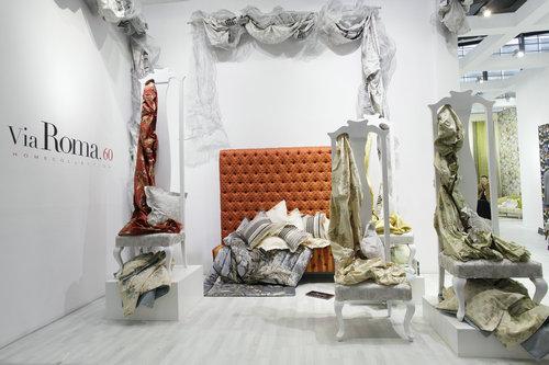 窗帘壁纸橱窗展示设计