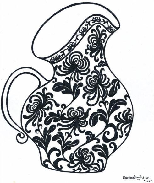 晓蕊手绘菊花