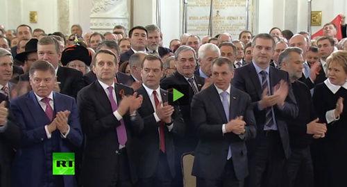 俄罗斯的掌声为谁而鸣?