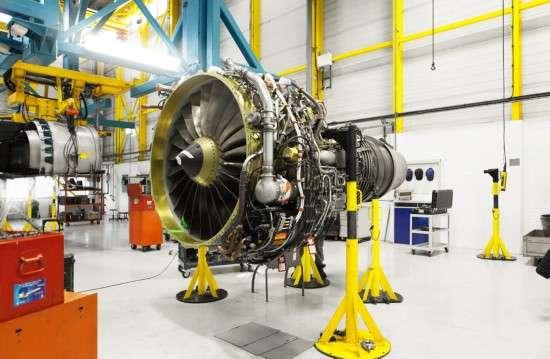 a大涵道比涡扇航空发动机