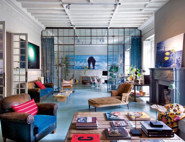 室内设计师的家:各式亮点吸引你的眼球