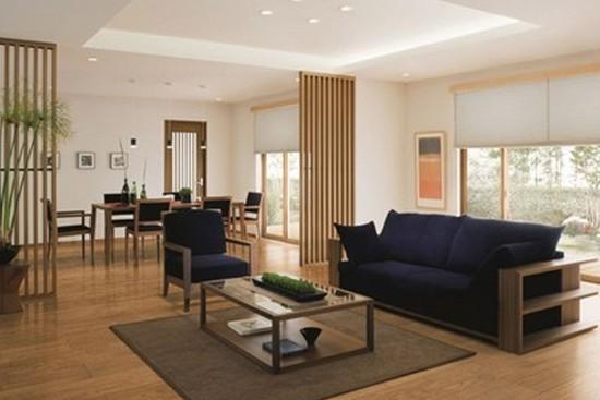 简约而不简单的日式风格客厅装修效果图