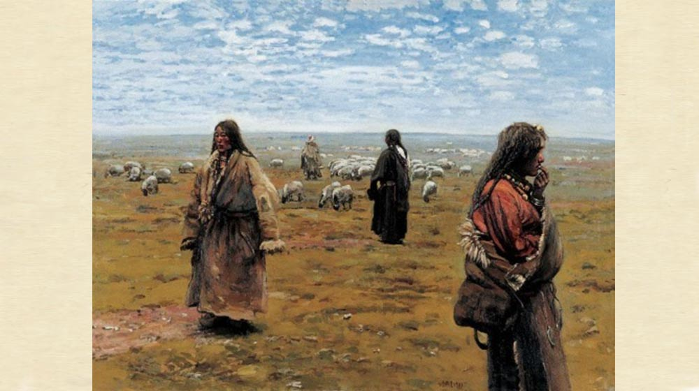 《西藏组画》