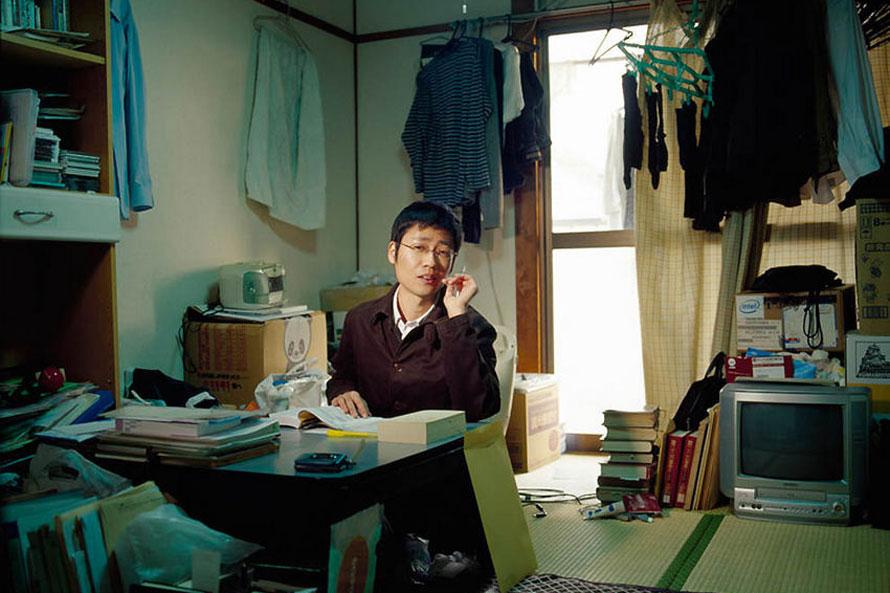 日本人家中生活;; 纪实摄影日本人的家;