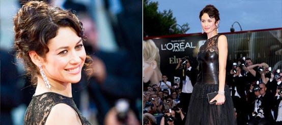 《通往仙境》首映 新邦女郎奥尔加蕾丝黑裙成焦点
