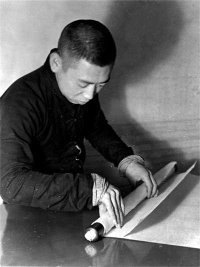 中国传统书画装裱工艺 三分画 七分裱