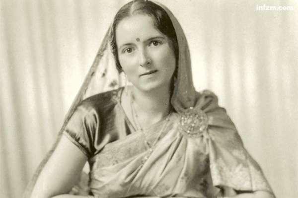 希特勒身边的女阿凡达 来自印度的纳粹朝圣者图片