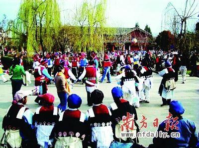 丽江的人文景观非常具有当地特色