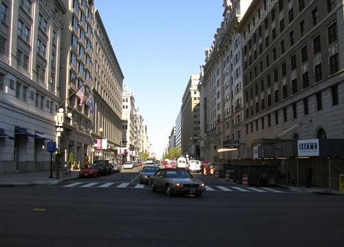 畅游美国著名城市 购物华盛顿大型商场