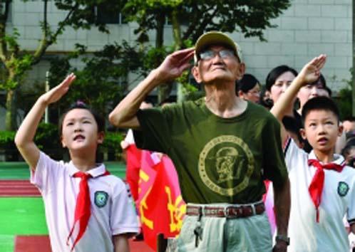 抗战胜利70周年阅兵式