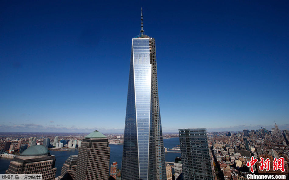 北美第一高楼新世贸大楼亮相