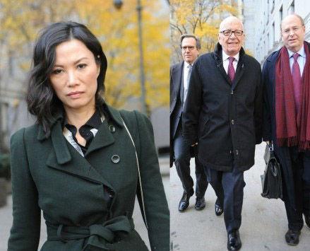 邓文迪与默多克达成离婚协议 专家:她赚到了