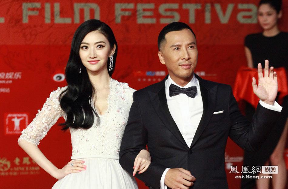 上海电影节开幕+景甜甄子丹携手亮相红毯高清