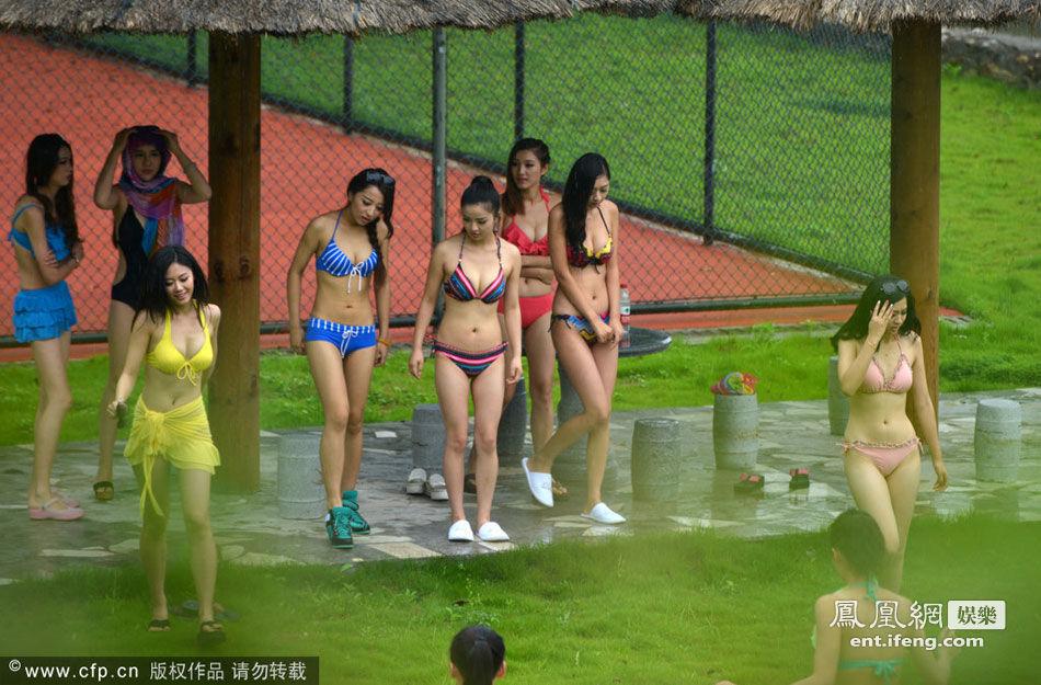 寻找中国最美七仙女泳装模特大赛现场高清大