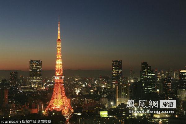 世界十大著名夜景城市 灯火通明美不胜收图片