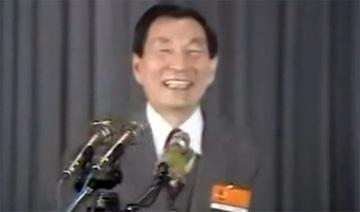 朱镕基上海工作旧照:大笑称江泽民比自己'好得多'