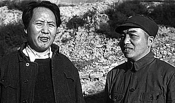 美国记者镜头中的延安笑脸 毛泽东与亲密战友们