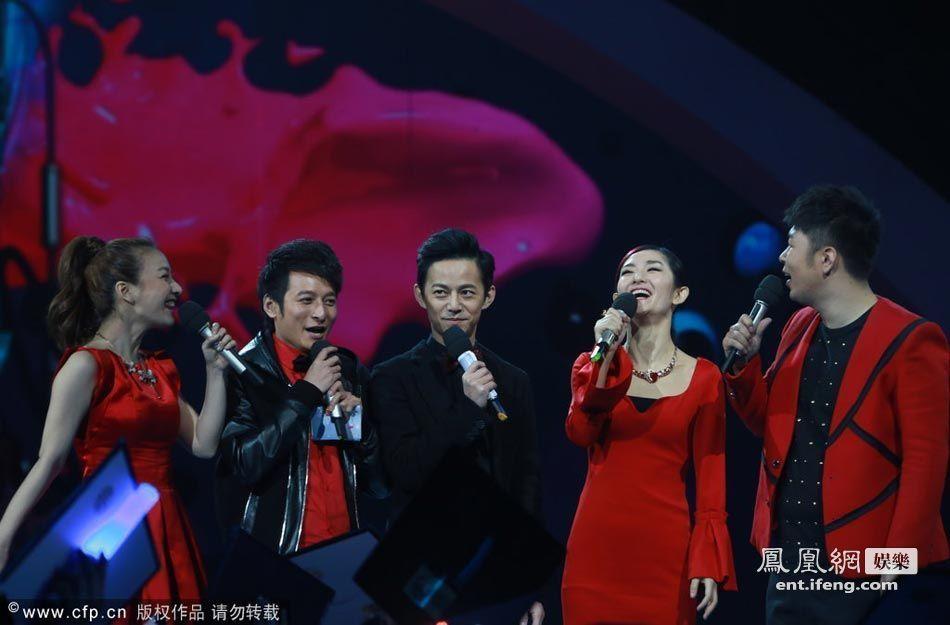 众星齐聚亮相湖南卫视跨年演唱会[高清大图]图片