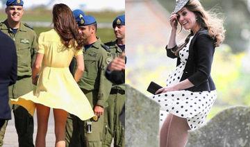 王妃裙太短惹尴尬 被女王下禁令