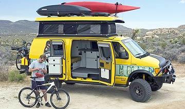 露营探险专用V8房车 配置超豪华/征服各种地形