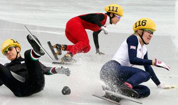 李坚柔摘下中国冬奥代表团首金
