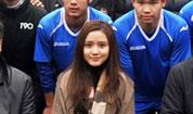 富二代美女演员如何玩转足球队