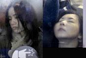 北京东京谁更挤 表情貌似很陶醉
