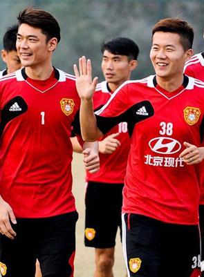 国足集训备战亚预赛