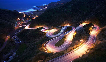 世界上最危险的盘山公路 胆小技术差者请绕行