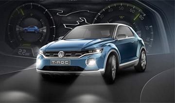 大众将推全新小型SUV 外观更动感拉风/油耗仅4.9升